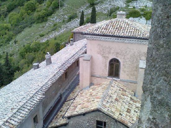 Capranica Prenestina, Italy: Vista della Chiesa del Santuario della Mentorella