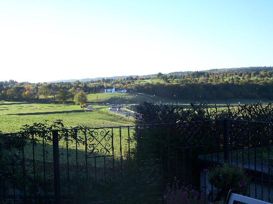 Castlecroft: View from our bedroom window