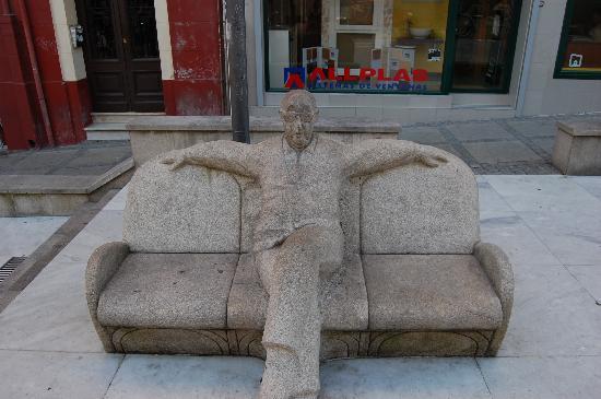 A Coruña, España: Plaza del'Humor