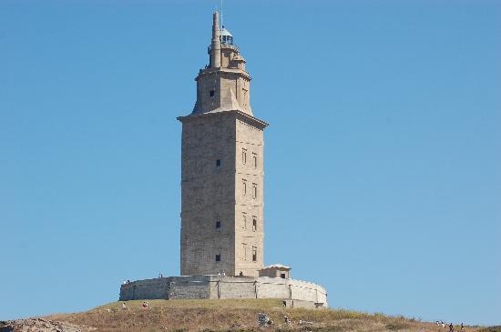 A Coruña, España: Torre di Ercole