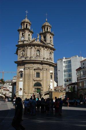 Pontevedra, إسبانيا: Santuario de la Peregrina