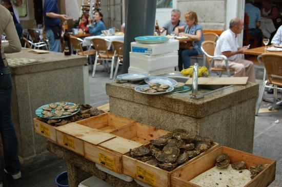 Βίγκο, Ισπανία: Mercato delle Ostriche