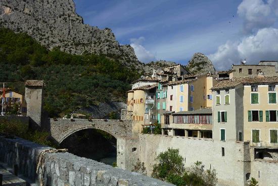 Hotel Villa Rivoli: Entrevaux (Chemin de Fer de Provence)