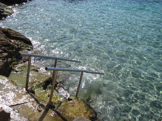 Hostal Dragonera: accès mer