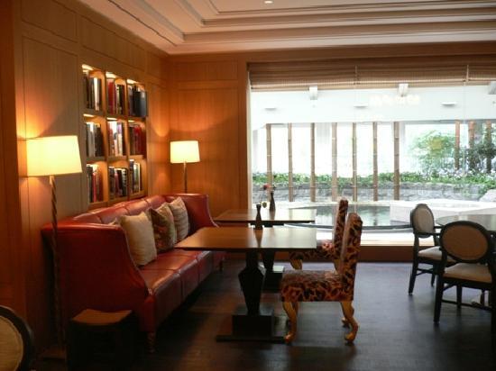 Lotte Hotel Seoul: tearoom2