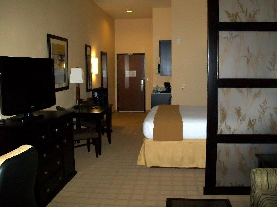 Holiday Inn Express Hotel & Suites Denver Northeast - Brighton : King Suite View 2