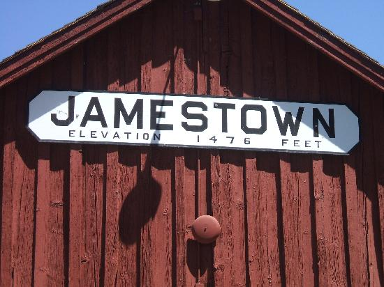 Jamestown, Californien: Train Depot