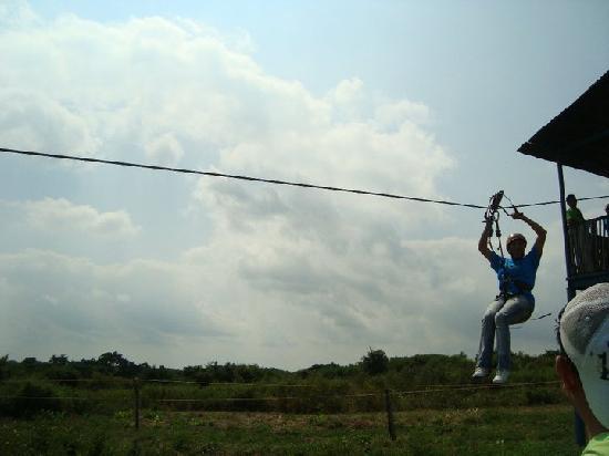 Veracruz, México: tirolesa