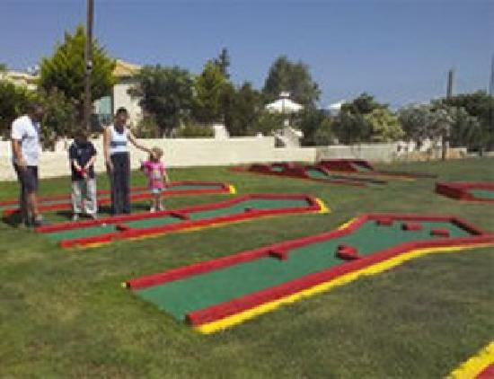Anastasia Hotel: Mini Golf