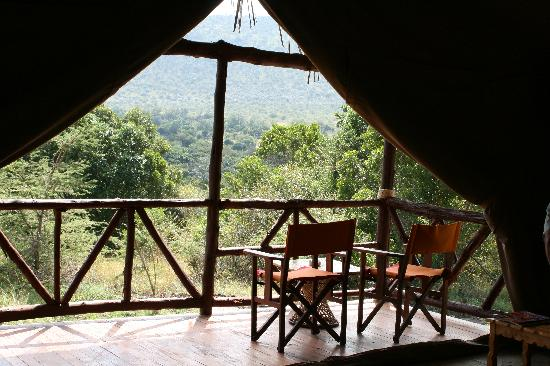 Sentrim Mara Camp : A view from the tent!