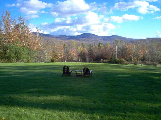 The Vermont Inn Restaurant: The View from the Front Lawn