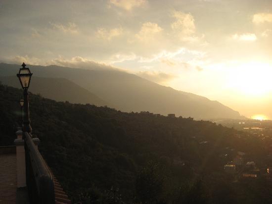 Villa Palmentiello: view