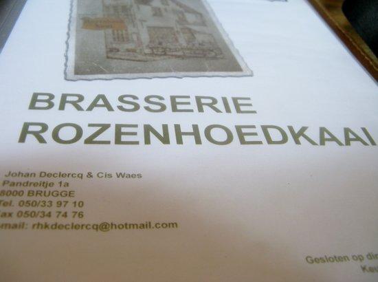 Photo of Road Rozenhoedkaai at Rozenhoedkaai, Brugge 8000, Belgium