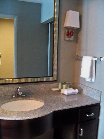 Homewood Suites by Hilton Leesburg: Bathroom Sink Area
