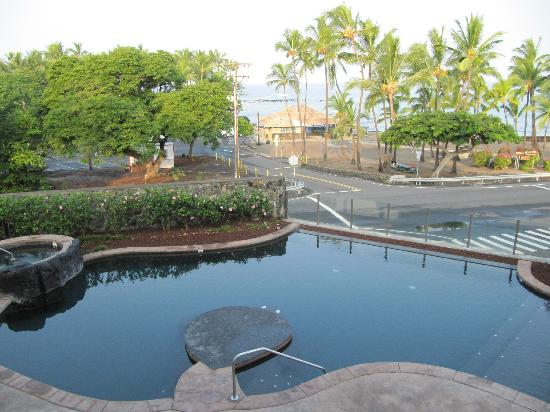 The Beach Villas at Kahalu'u: view from the Lani