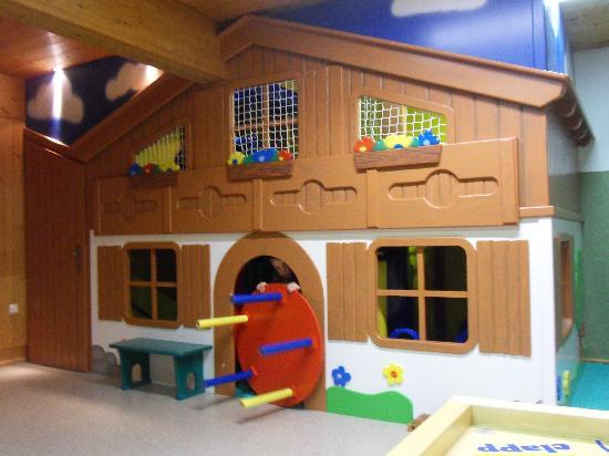 Kinderhotel Felben: ein Beispiel für einen teil des Spielraumes