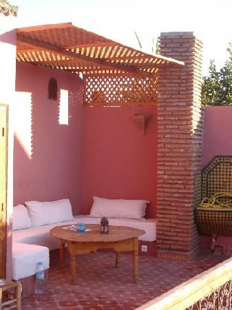 Dar Eden Marrakech medina: sur la terrasse