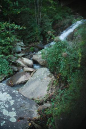 Rabun Gap, GA: the cascade