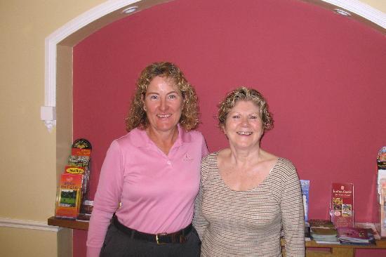 Denton B & B: Delightful host Eileen