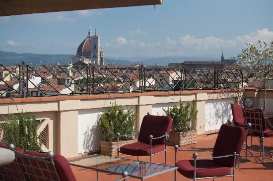 The Westin Excelsior Florence: Our private terrace