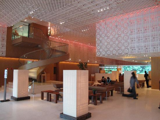 Hyatt Regency Kyoto: The comfortable foyer with free wi-fi