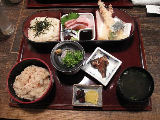 Hyatt Regency Kyoto: Tasty dinner at the nearby Manzo Inn