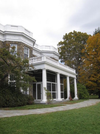 Franklin Delano Roosevelt Home: The house