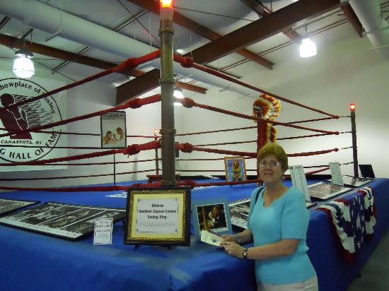 International Boxing Hall of Fame: The ring from Madison Square Garden