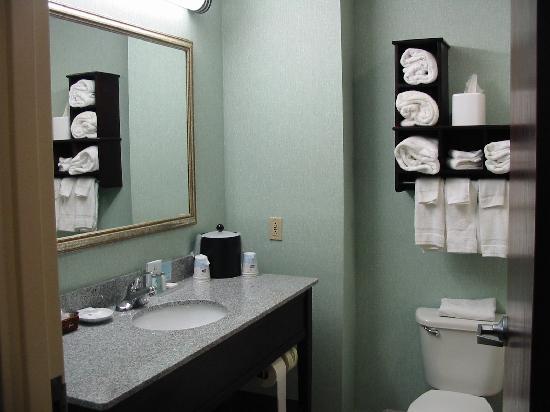 Hampton Inn Front Royal: Bathroom clean and bright