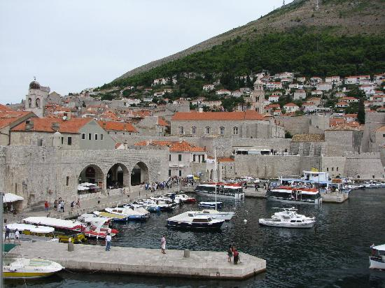 Dubrovnik, Croatia: The harbor