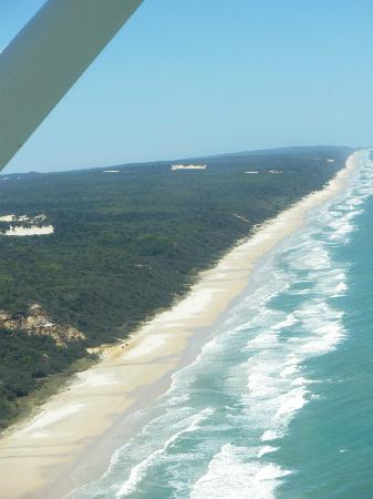 Eden by the Bay: Fraser Island from the air