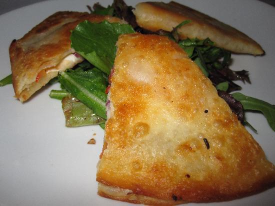 Porterhouse Bistro: Smoked salmon quesadilla