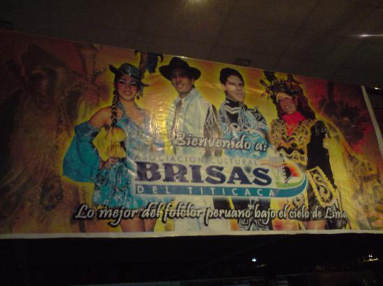 Brisas del Titicaca: bienvenida /  diferentes vestuarios