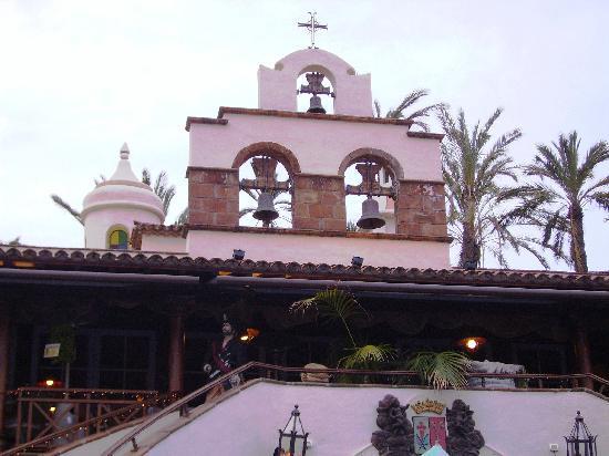 Los Realejos, Spanien: Terrasse vom 1. Restaurant