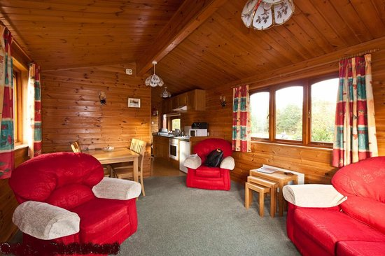 Lochy Holiday Park: View when you enter the front door