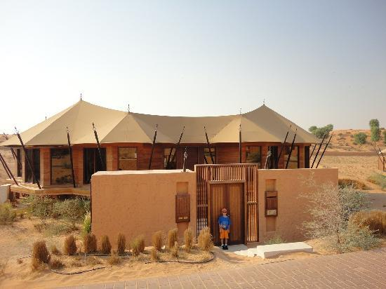 Banyan Tree Al Wadi: Villa from the front