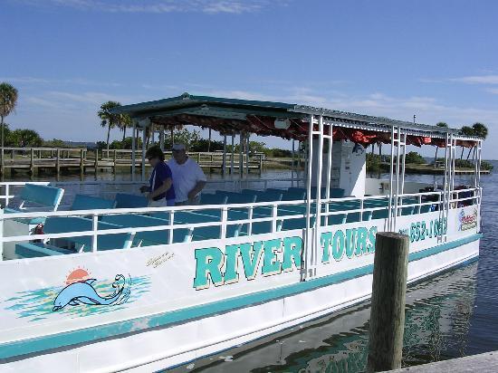 Merritt Island, Floryda: Tour Boat