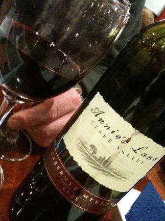 Del Giorno: wine we ordered
