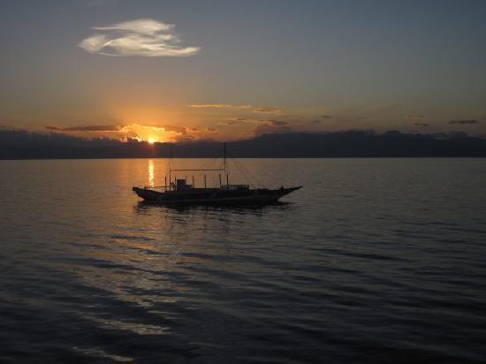 Il Sogno: Il tramonto che si può vedere direttamente dalla veranda