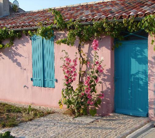 'île d'Aix, France : le charme d une maison de l'ile