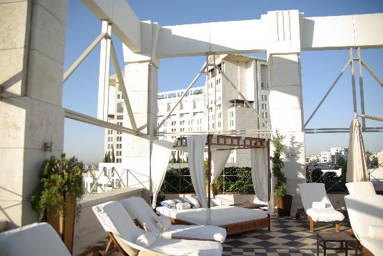 Four Seasons Hotel Amman : Pool Area