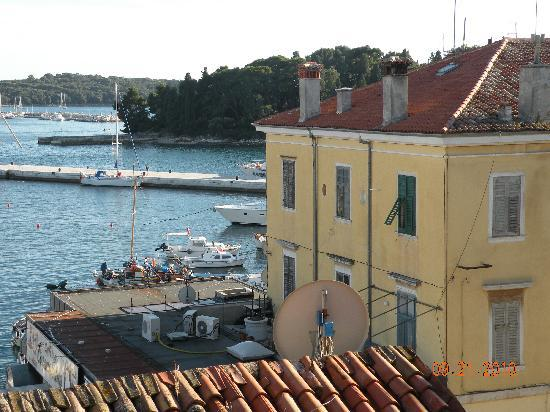 Villa Tuttorotto: View from our room (top floor)