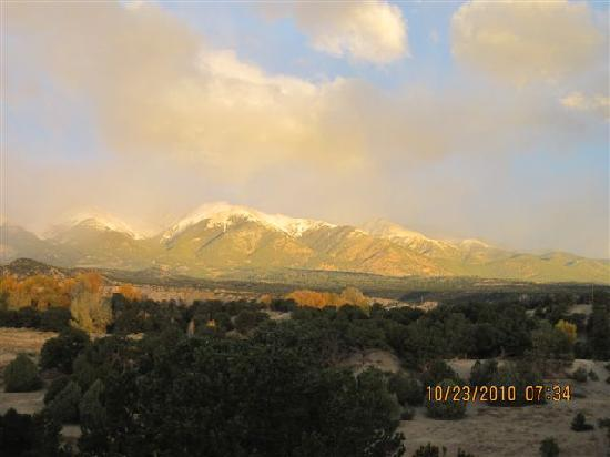 Salida, CO: view from our room's deck