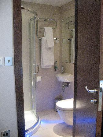 Best Western Seraphine Kensington Olympia Hotel: Trendy bathroom. Soft closing seat!!!