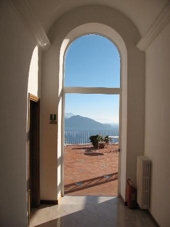 Hotel San Michele: Blick von Hotelterrasse