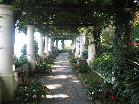 Hotel San Michele: Loggia Villa San Michele