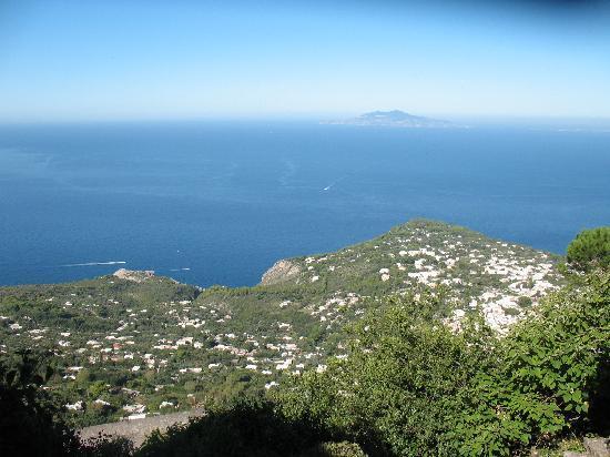 Hotel San Michele: Sessellift zum Monte Solaro
