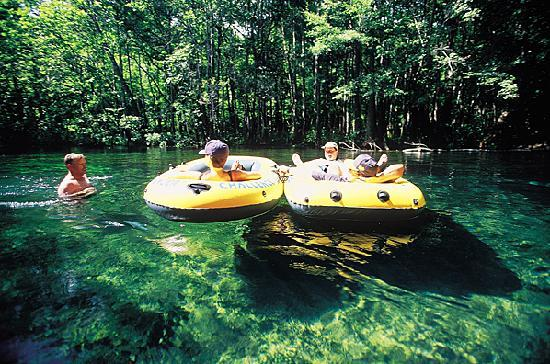 Florida: Tubing on the Ichetuck