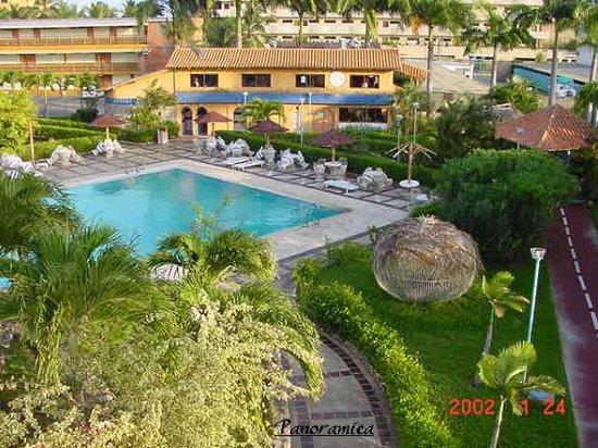 Hotel Manaure: vista dallo scivolo