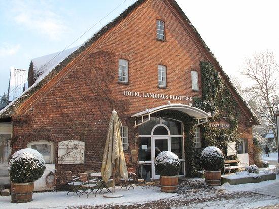 Restaurant Landhaus Flottbek: Eingangsbereich zum Hotel